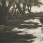 The Driveway - Intaglio Print