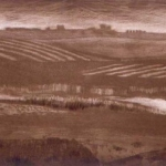 Farmland to the East - Intaglio Print