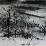 Forest Fire - Intaglio Print