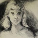 Girl - Intaglio Print