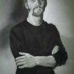 Will - Charcoal Drawing